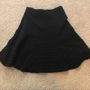 Adorable black skirt Maeve from Anthropologie